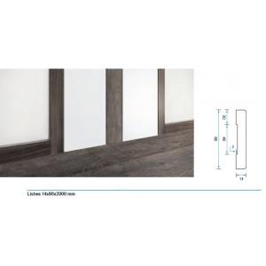 Listwa przypodłogowa kolekcji doors&floors 14x80x2000mm